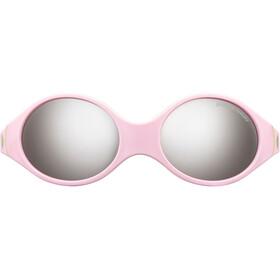 Julbo Loop Spectron 4 Sunglasses Baby 2-4Y Pink/Sky Blue/Beige-Gray Flash Silver